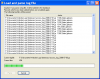Load logfiles dialog